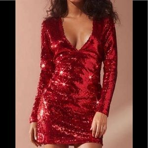 Motel Rocks (Urban Outfitters) sequin dress
